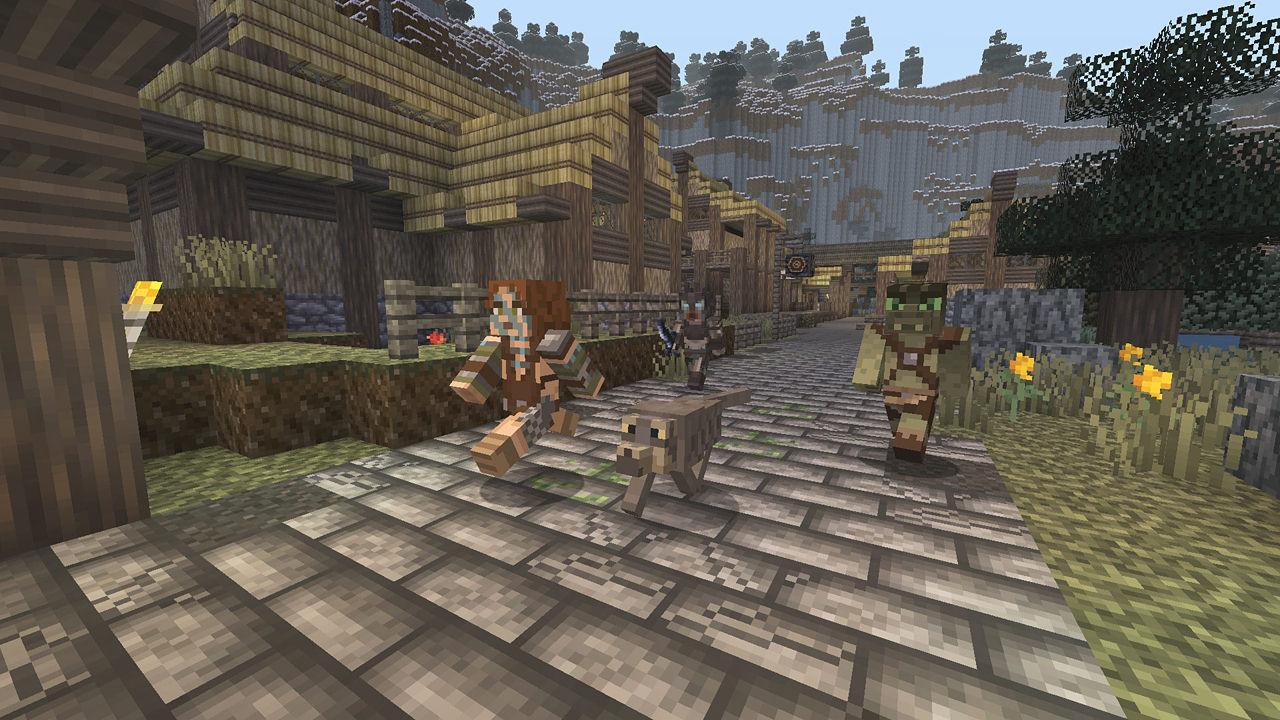 minecraft  playstation 3 edition  playstation 3   u2022 world