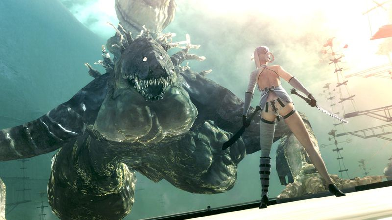 "Screenshot ""Nier"""