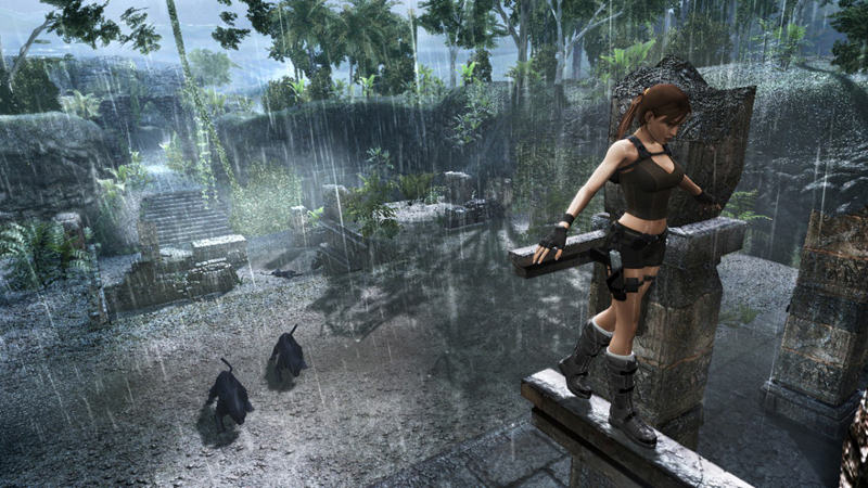 "Screenshot ""Tomb Raider 8: Underworld"""