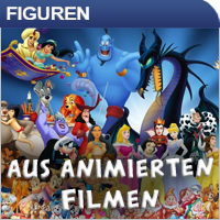 Animierte Film-Figuren