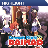 Anime: Demon King Daimao Vol. 1