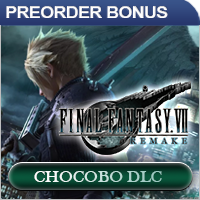 Final Fantasy 7 Remake Preorder Bonus