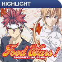 Anime: Food Wars - The Third Plate Vol. 3