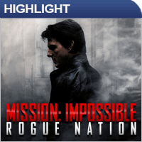 Film Highlight: Mission Impossible 5 - Rogue Nation