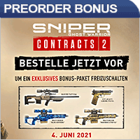 Sniper Ghost Warrior Contracts 2 Preorder Bonus