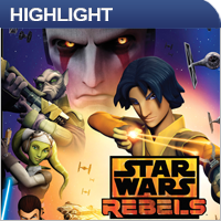 Serien Highlight: Star Wars Rebels - Staffel 1