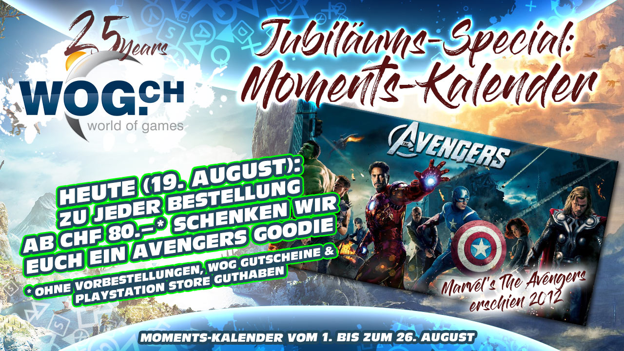 WoG-Moments-Kalender Tag 19 Marvel's The Avengers