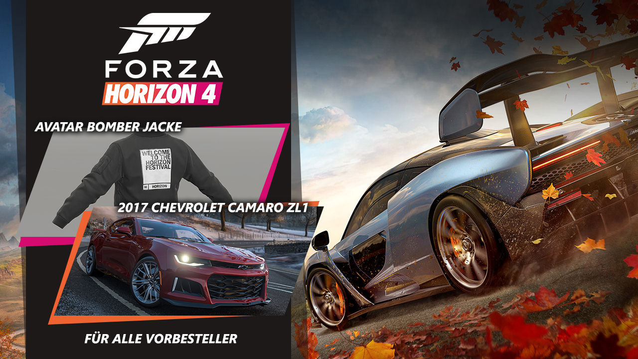 forza horizon 4 inkl dlc pack xbox one world of games. Black Bedroom Furniture Sets. Home Design Ideas