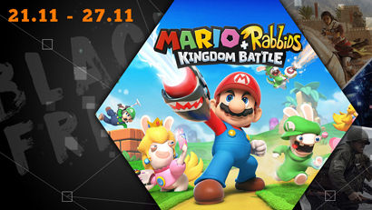 Black Friday: Mario + Rabbids - Kingdom Battle