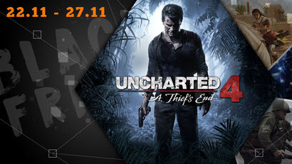 Black Friday: Uncharted 4 - A Thief's End