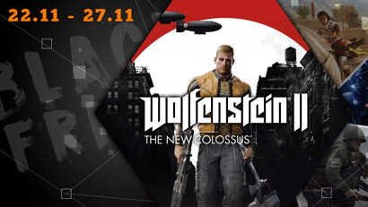 Black Friday: Wolfenstein 2 - The New Colossus