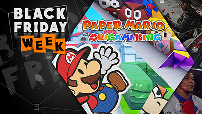 Black Friday 2020: Paper Mario - The Origami King