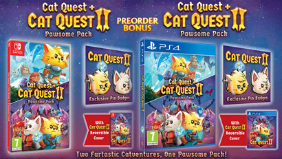 Cat Quest Pawesome Pack Preorder Bonus
