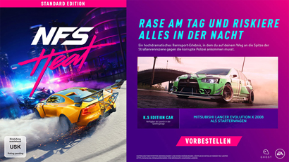 Need for Speed: Heat Preorder Bonus