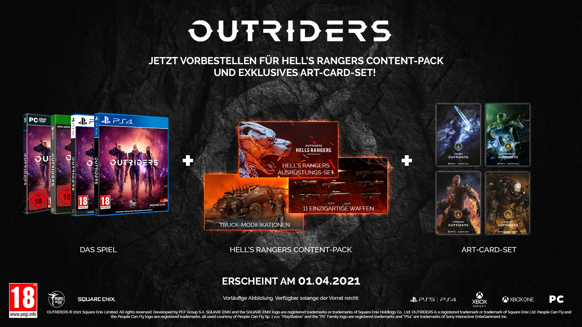 Outriders Preorder
