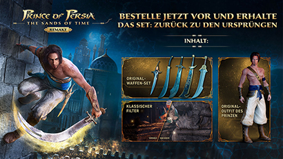 Prince of Persia: The Sands of Time Remake Preorder