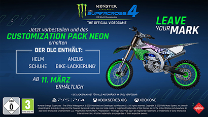 Monster Energy Supercross 4 Preorder Bonus