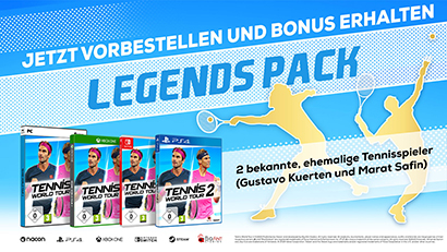 Tennis World Tour 2 Preorder Bonus