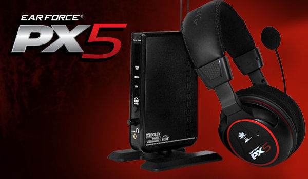 Headset Ear Force PX5 Wireless (Turtle Beach)