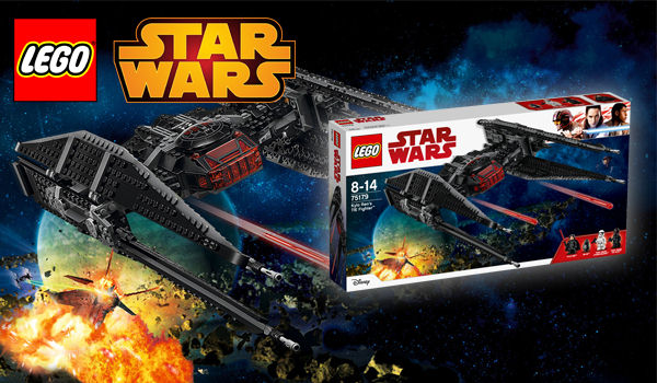 LEGO Star Wars: Kylo Ren's TIE Fighter (75179)
