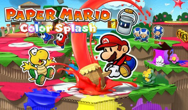 Paper Mario: Color Splash (inkl. Malbuch)