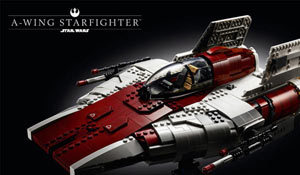 LEGO Star Wars: A-Wing Starfighter - Ultimate Collector Series (75275)