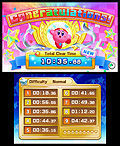"Screenshot ""Kirby Fighters Deluxe"""