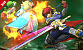 "Screenshot ""Super Smash Bros. for 3DS: Roy"""