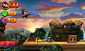 "Screenshot ""Donkey Kong Country Returns 3D"""