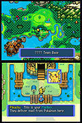 "Screenshot ""Pokémon Mystery Dungeon: Team Blau"""