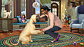 "Screenshot ""Die Sims 4: Cats & Dogs"""