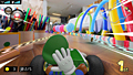 "Screenshot ""Mario Kart Live: Home Circuit - Luigi"""