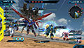 "Screenshot ""Mobile Suit Gundam: Extreme Vs. Force"""
