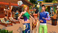 "Screenshot ""Die Sims 4: Island Living (Code in a Box)"""