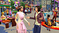 "Screenshot ""Die Sims 4: City Living (Grossstadtleben)"""